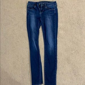 Articles of Society Low Waist Skinny Jeans